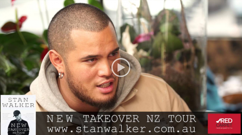 Stan Walker and April Walker Lunch with Deb Byrnand