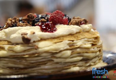 Marcel's Pancake Launch Event at Fresh Factory