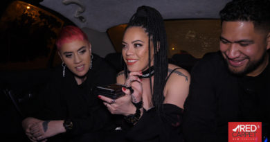 Vallkyrie Queen Premiere – Limo ride with Winner